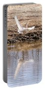 Egret Taking Off Portable Battery Charger