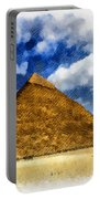 Egyptian Pyramid Portable Battery Charger