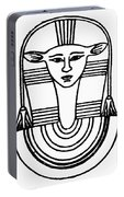 Egyptian Symbol Hathor Portable Battery Charger