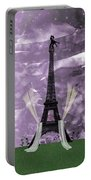 Eiffel Tower - Paris - Love Portable Battery Charger