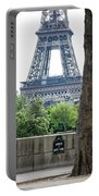 Eiffel Tower Avenue De New York Portable Battery Charger