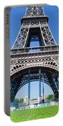 Eiffel Tower Lower Part Paris Portable Battery Charger