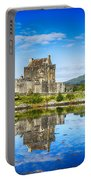 Eilean Donan Castle Reflections 2 Portable Battery Charger