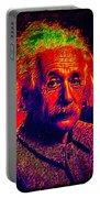 Einstein - Pop Art Portable Battery Charger