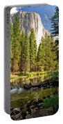 El Cap And Merced River Portable Battery Charger