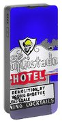 El Conquistador Hotel Demolition Sign 1968 Tucson Arizona 1968-2012 Portable Battery Charger