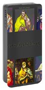El Greco's Apostles Of Christ Portable Battery Charger by Barbara Griffin