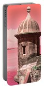 El Morro In The Pink Portable Battery Charger