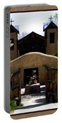 El Santuario De Chimayo Portable Battery Charger