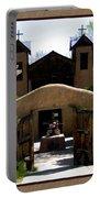 El Santuario De Chimayo Portable Battery Charger