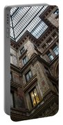 Elaborate Atrium Murals - Rome - Italy Portable Battery Charger