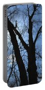 Elder Maple Silhouette Portable Battery Charger