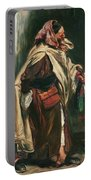 Elderly Moroccan Jew, 1867 Oil On Canvas Portable Battery Charger