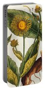 Elecampane Portable Battery Charger by Elizabeth Blackwell