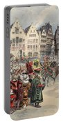 Election To The Empire The Procession Portable Battery Charger