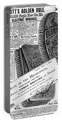 Electric Brushes, 1882 Portable Battery Charger