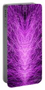 Electrostatic Pink Portable Battery Charger
