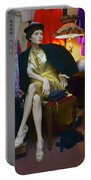 Elegance - Retro Mannequin Portable Battery Charger