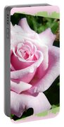 Elegant Royal Kate Rose Portable Battery Charger by Will Borden