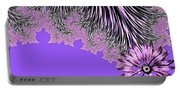 Elegant Tentacles Purple And Lilac Portable Battery Charger