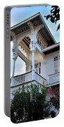 Elegant White House And Balcony Portable Battery Charger