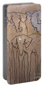 Elephant Graffiti Portable Battery Charger