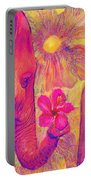 Elephant Love Portable Battery Charger