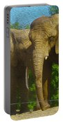 Elephant Snuggle Portable Battery Charger