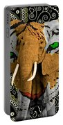 Elephant Tiger Portable Battery Charger