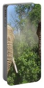 Elephants In The Sand Portable Battery Charger