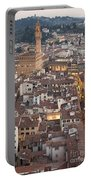 Elevated View Of Florence Portable Battery Charger