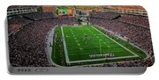 Elevated View Of Gillette Stadium, Home Portable Battery Charger