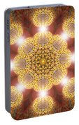 Eleven Sacred Steps Of Light K1 Portable Battery Charger by Derek Gedney