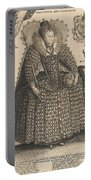 Elizabeth, Queen Of England, C.1603 Portable Battery Charger