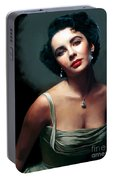 Elizabeth Taylor Portable Battery Charger