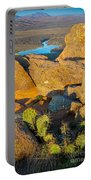 Elk Mountain Sunset Portable Battery Charger