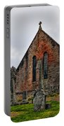 Elvanfoot Parish Church Portable Battery Charger by Marcia Colelli