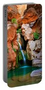 Elves Chasm Portable Battery Charger by Inge Johnsson