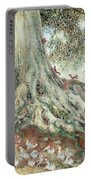 Elves In Rabbit Warren Portable Battery Charger by Photo Researchers