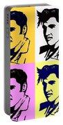 Elvis Pop X Four Portable Battery Charger