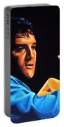 Elvis Presley 2 Painting Portable Battery Charger