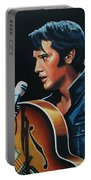 Elvis Presley 3 Painting Portable Battery Charger