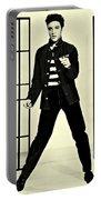 Elvis Presley Jailhouse Rock Portable Battery Charger