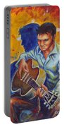 Elvis Presley- Shadow Duet Portable Battery Charger