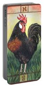 Elvis The Rooster Portable Battery Charger