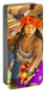 Embera Villagers In Panama Portable Battery Charger