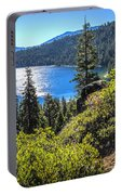 Emerald Bay Lake Tahoe California Portable Battery Charger