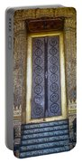 Emerald Buddha Temple Door Portable Battery Charger