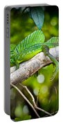 Emerald Lizard - Costa Rica Portable Battery Charger