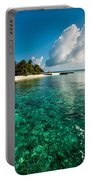Emerald Purity. Kuramathi Resort. Maldives Portable Battery Charger